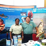 Bob Pos and Rose Mickens at FLW Expo, Columbia, SC - August 15, 2014