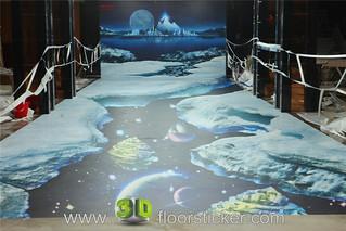 3d exhibition sticker (210) | by 3D floor sticker - YeJun