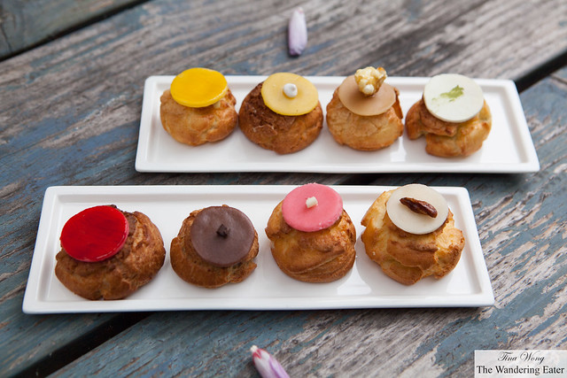 Our plates of choux