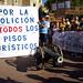 23_08_2014 Protesta en la Barceloneta por los pisos turisticos