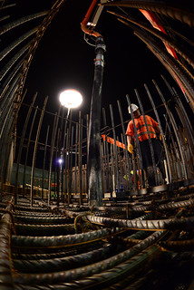 ITER - Night concrete pouring August 2014 | Night Concrete P