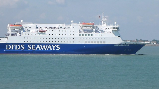 DFDS Seaways Ship