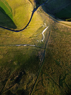 Uffington White Horse & Environs in Harvest Time | by superdove
