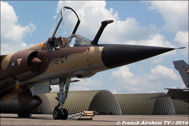 Fin du Mirage F1 BA-118 Mont de Marsan