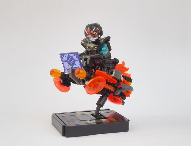 Orange Raven