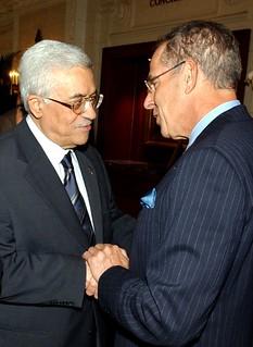 Abu Mazen meets Jewish Leaders in Washington, DC