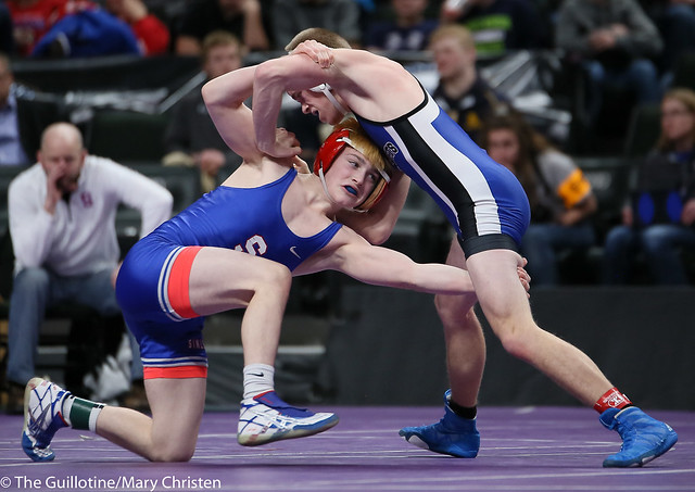 113AA - 3rd Place Match - Ryan Sokol (Simley) 40-7 won by decision over Jared Johnson (Kasson-Mantorville) 37-10 (Dec 11-6)