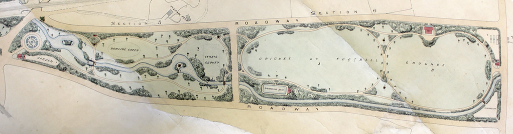 Roath Park Map Roath Park / Parc y Rhath   Plan for competition   recreatio…   Flickr