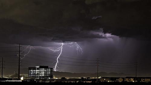 usa storm night america landscape lights cityscape desert cloudy lasvegas fireworks nevada places lightning 4thofjuly 2014