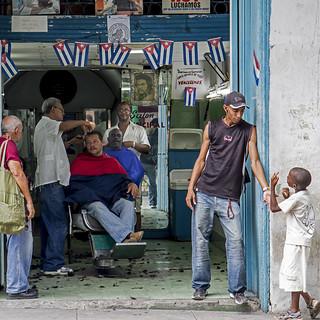 Kapper Santiago de Cuba Foto Cees de Vries