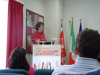 1° Attivo dei Delegati Slc Cgil di Bari | by slccgilbari