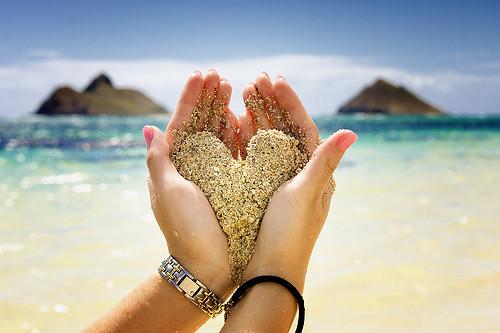 Coração Areia Imagens Fofas Para Tumblr We Heart It Flickr