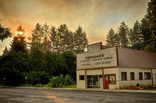 sunrise washington cloudy smoky hdr leavenworth sandybohlken
