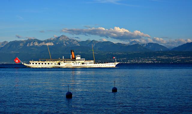 Le Montreux à Saint Prex