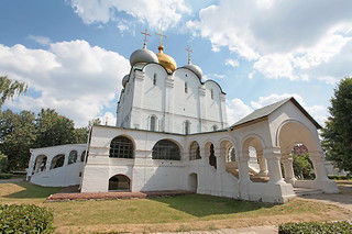 The Cathedral of Our Lady of Smolensk. Moscow