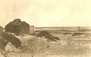 Alnmouth, The Beach, with huts | by museum 1