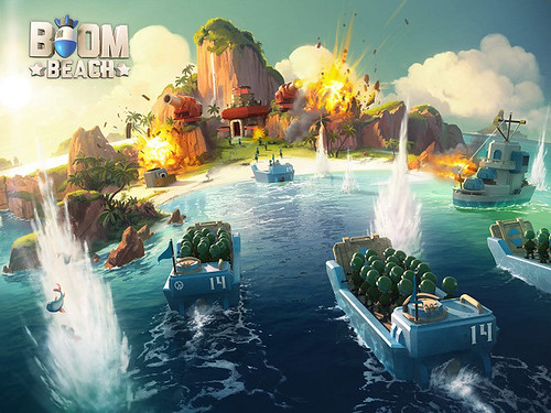 Boom Beach - the Latest Buzz of Supercell? | by gamerss101