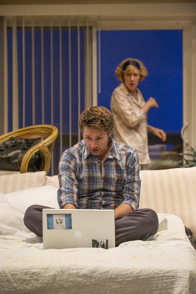 Erik Hellman (Gabe) and Linda Kimbrough (Judith)