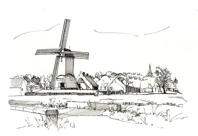 Oostmolen, Gistel, België