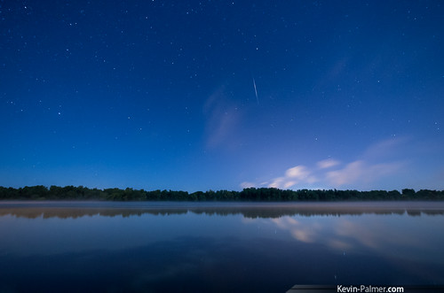 blue summer sky reflection water fog night clouds stars star illinois north foggy september clear moonlit mississippiriver moonlight shooting andalusia campground starry meteor riverview kevinpalmer pentaxk5 samyang10mmf28