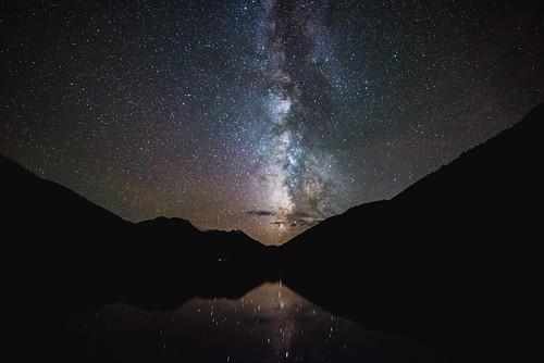 milkyway astrophotography colorado ouray crystallake davedicello stars starphotography