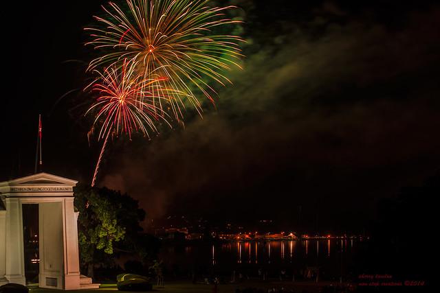 fireworks across the border