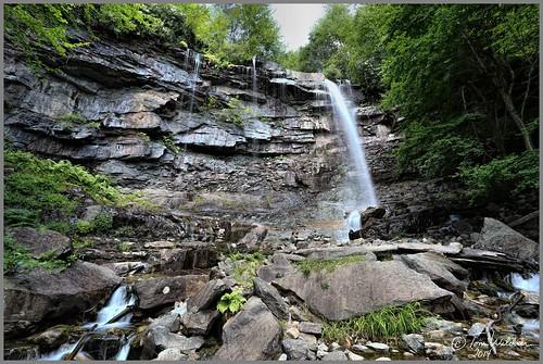 park trees summer water canon waterfall timelapse rocks stream state pennsylvania glen gorge flowing jimthorpe lehigh 2014 carboncounty glenonoko onoko canon6d tomwildoner