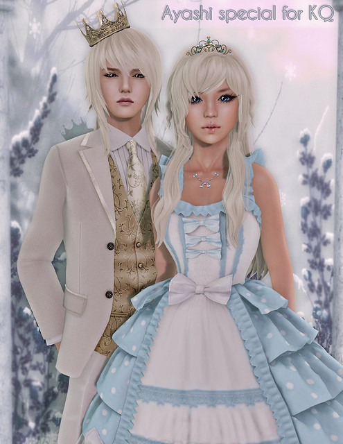 [^.^Ayashi^.^] King&Ledi hairstyles special for King&Queen Fair