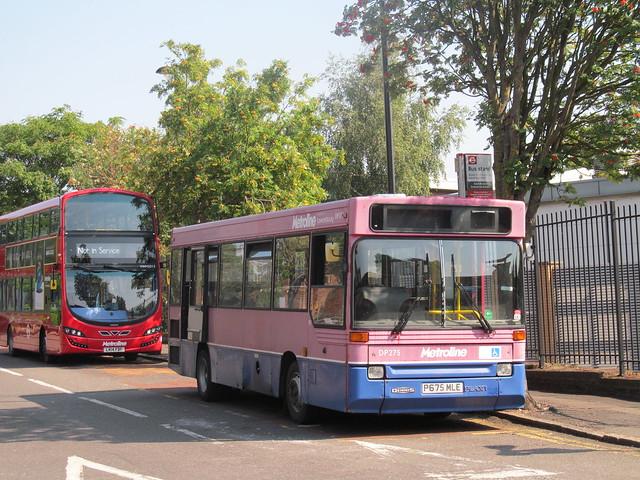 Metroline, DP275 (P675MLE)