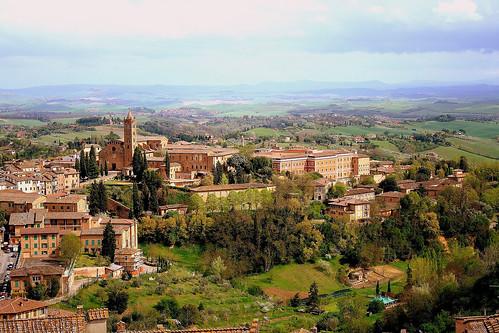 View of Italian city