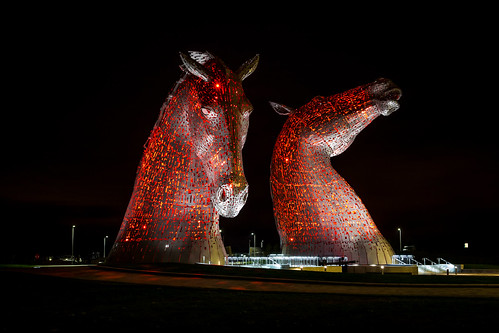 kelpies | by JBMacPhotography