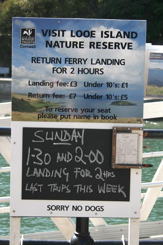 Looe Island ferry