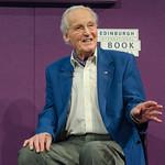 Nicholas Parsons at the Edinburgh International Book Festival |