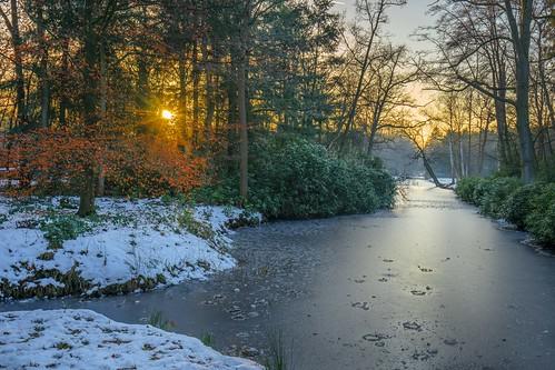 boekesteyn snow sunset cffaa