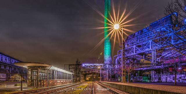 German Railwaystation