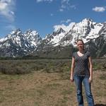 Emily at the Grand Tetons