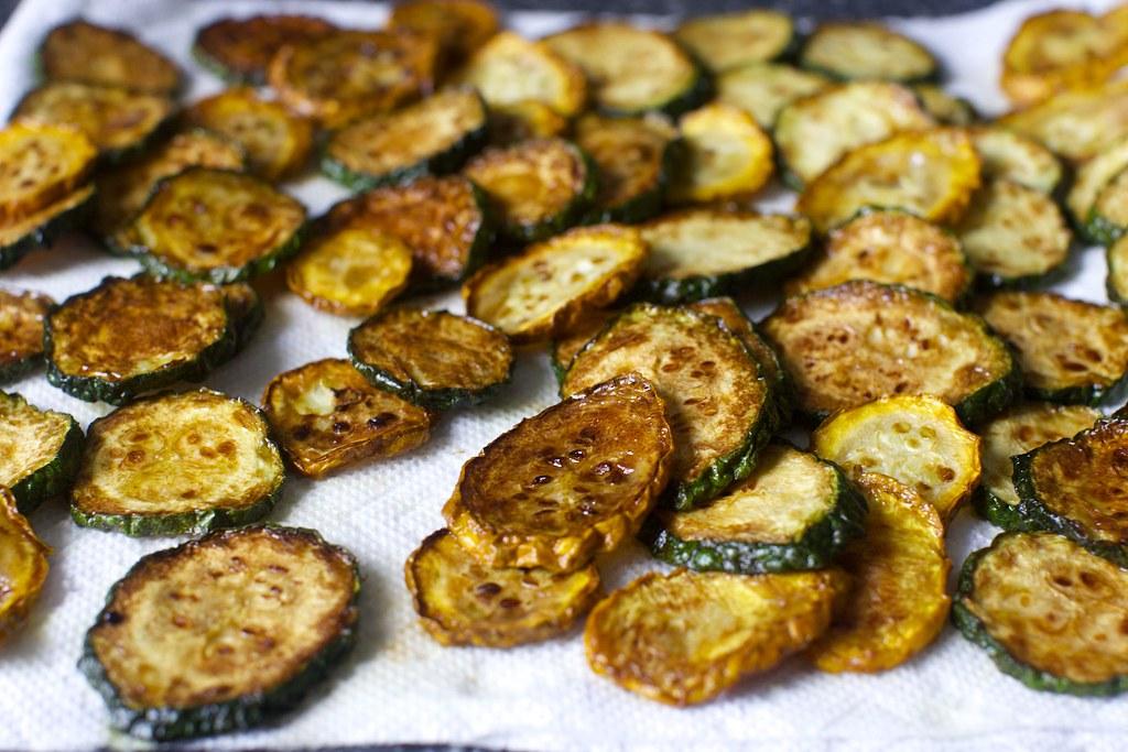 Fried Zucchini Pasta And Fried Zucchini Salad On Smittenki Flickr