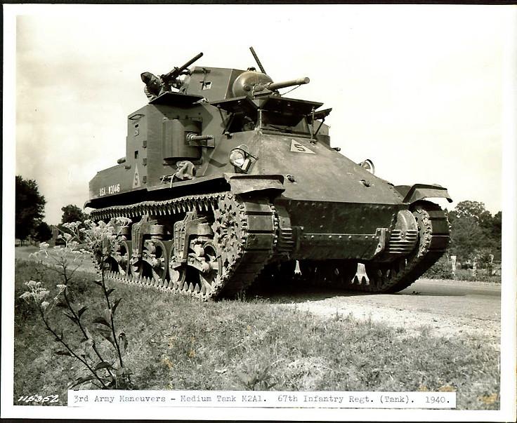 中型坦克M-2A1
