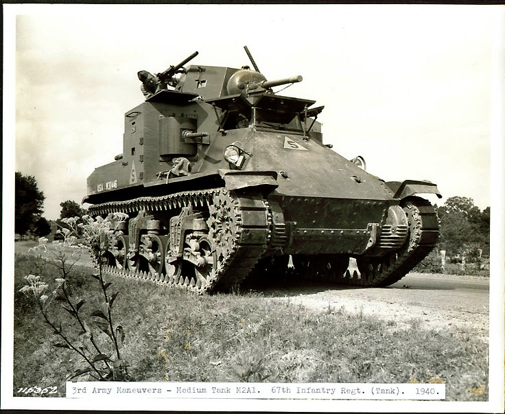 Vidutinis Tankas M-2A1