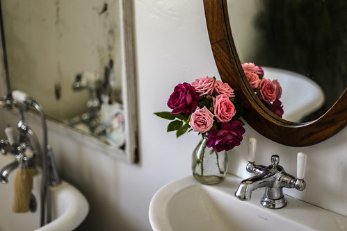 Pretty Little Powder Room | by The Noisy Plume