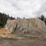 Orange Spring Mound, Mammoth Hot Springs, Upper Terraces
