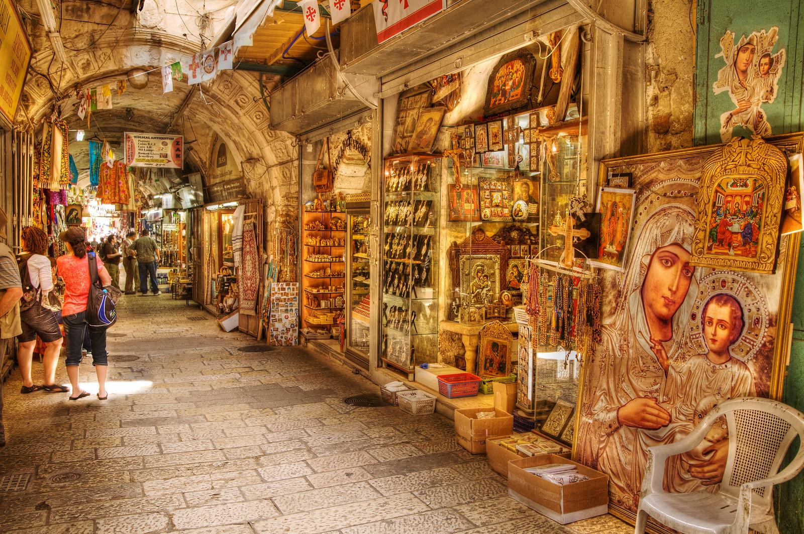 Jerusalem_Old City market_1_Noam Chen_ IMOT