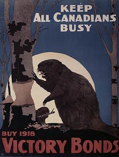 Keep All Canadians Busy—Buy 1918 Victory Bonds / « Gardez tous les Canadiens occupés – Souscrivez à l'Emprunt de la Victoire 1918 »