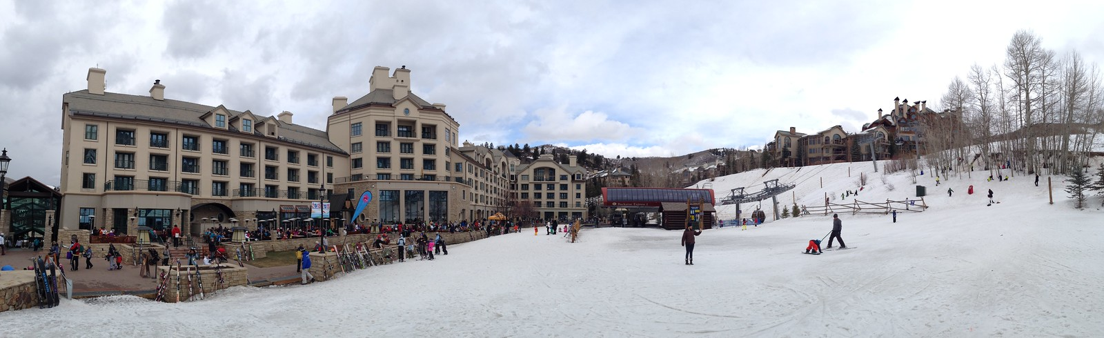 Panorama of Park Hyatt Beaver Creek