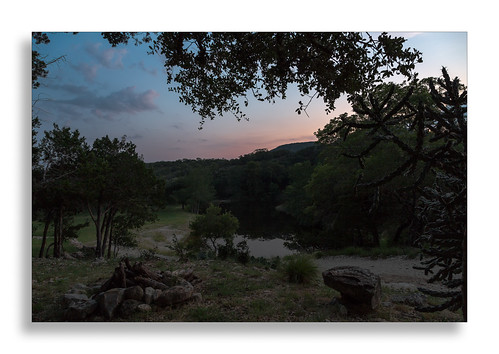 sunset cactus reflection water rocks texas unitedstates hillcountry casitas pipecreek redbluffcreek casitasatmadronaranch