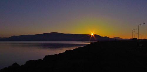 sunrise iceland reykjavik