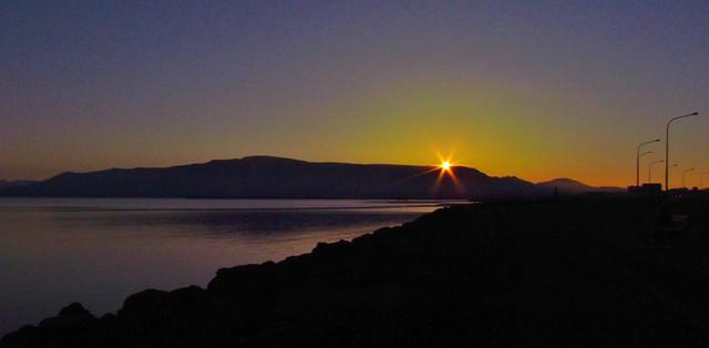 Sunrise, Reykjavik, Iceland