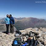 Jake and Kristen Bramante Summit of Grinnell Glacier