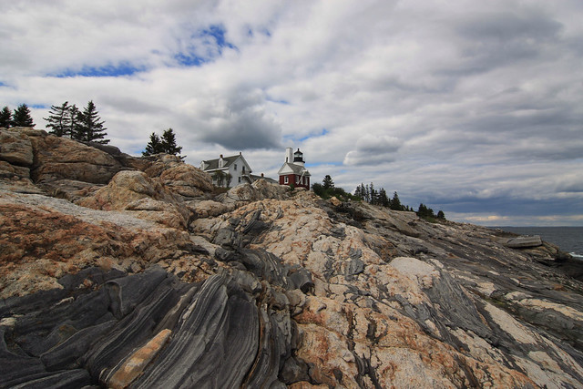 Pemaquid Lighthouse before the rain