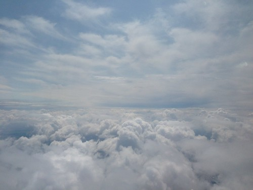 PIC: The clouds somewhere over Michigan | by @jozjozjoz